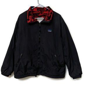 Vtg L.L Bean Aztec Southwestern Warm Up Jacket XXL